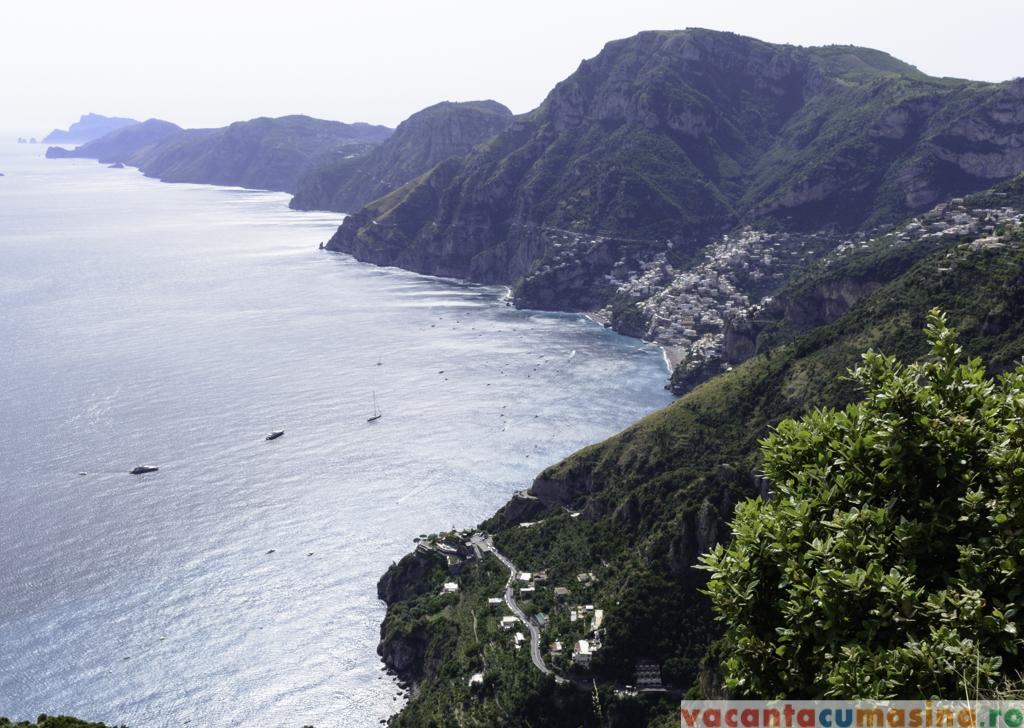 Drumul Zeilor, Coasta Amalfitana