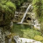 Cascada Cadini del Brenton - Parcul national Dolomitii Belunesi