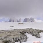 La peste 2700 de metri e zapada si vara - Refugiul Lagazuoi