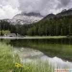 Lago di Misurina - priveliste spre Tre Cime