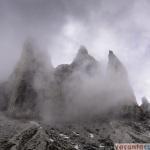 Tre Cime - in ceata