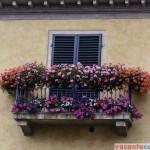 """Asa se """"inchide"""" balconul in Toscana"""