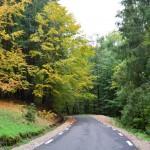 Drumul continua asa pe o lungime de circa 7 km