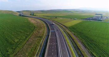 Puteti circula pe 25 de km noi de autostrada, intre Aiud si Turda