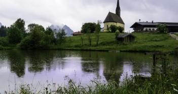 baza Inzell Bavaria Kirche St. Nikolaus