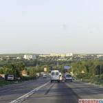Drumul national R3, dinspre Hancesti - foarte bun