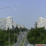 Poarta de intrare in Chisinau - Drumul National R2, dinspre aeroport