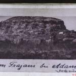 Monumentul Tropaeum Traiani, inainte de reconstructie