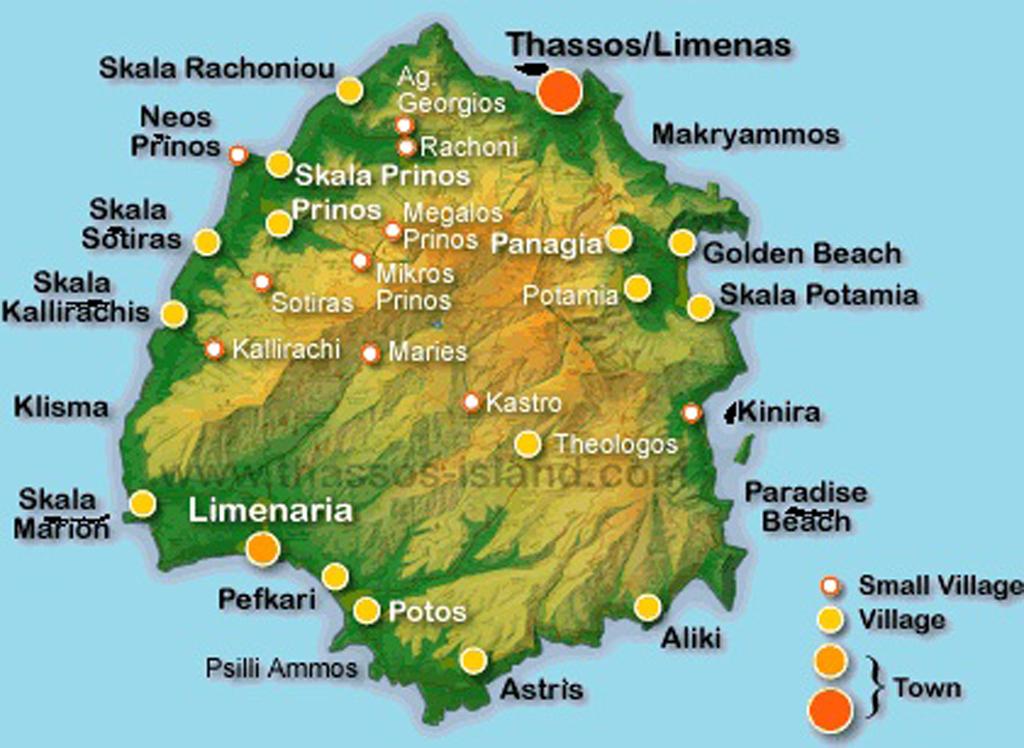 Aproape Totul Despre Insula Thassos Vacanta Cu Masina