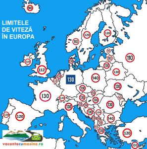 harta viteza europa