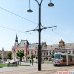 Tramvai in Piata Unirii, Oradea