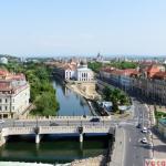 Oradea vazuta din turnul Primariei