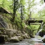 Cascada Bigar - se lucreaza la pasarela