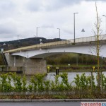 Podul peste raul Moselle, care leaga Luxemburg de Germania